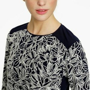 $5 W/ BUNDLE J. Crew Wildflower Embroidered Blouse
